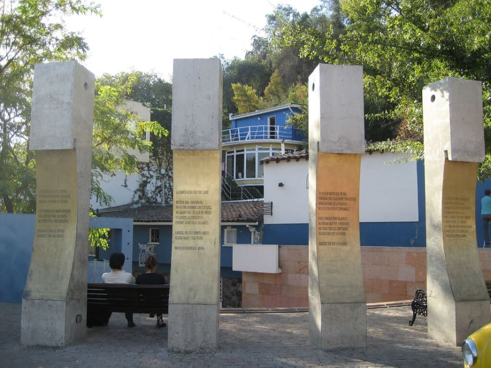 Principais atrações de Santiago - Casa Museo La Chascona