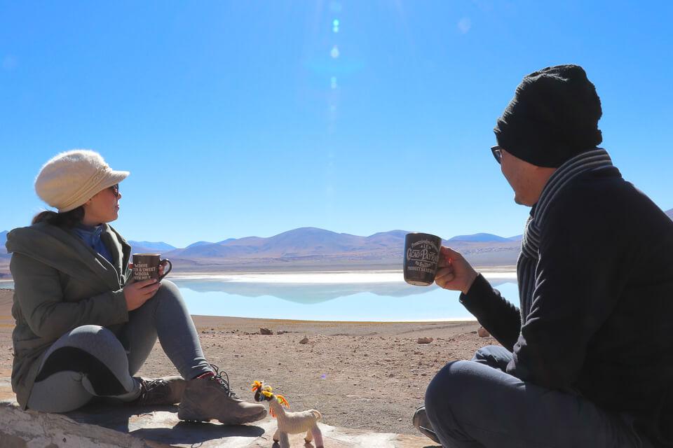 Laguna Tuyaito - passeios imperdíveis no Atacama Lagunas Altiplânicas