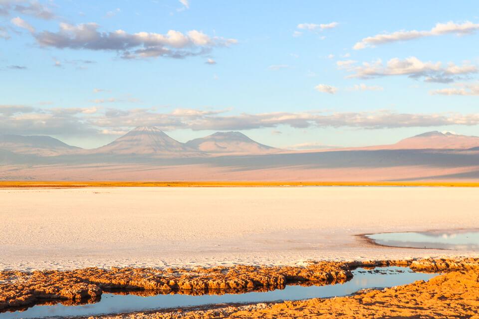 Onde ver o pôr do sol no Atacama Laguna Tebinquiche