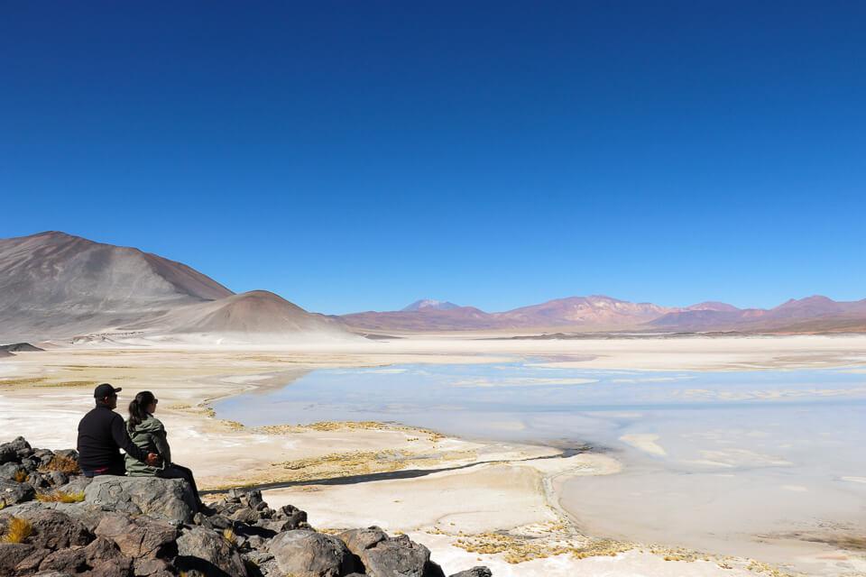 Mirante do Salar de Aguas Calientes - Piedras Rojas - Lagunas Altiplânicas