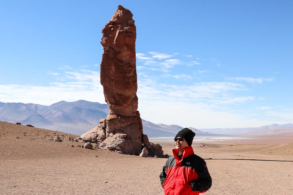 Passeio para os Monjes de la Pacana é no Salar de Tara no Atacama
