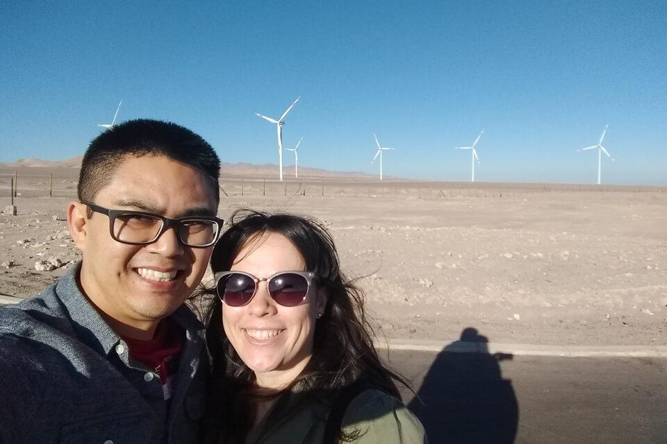 Como ir de Calama a San Pedro de Atacama - Parque de energia eólica de Calama