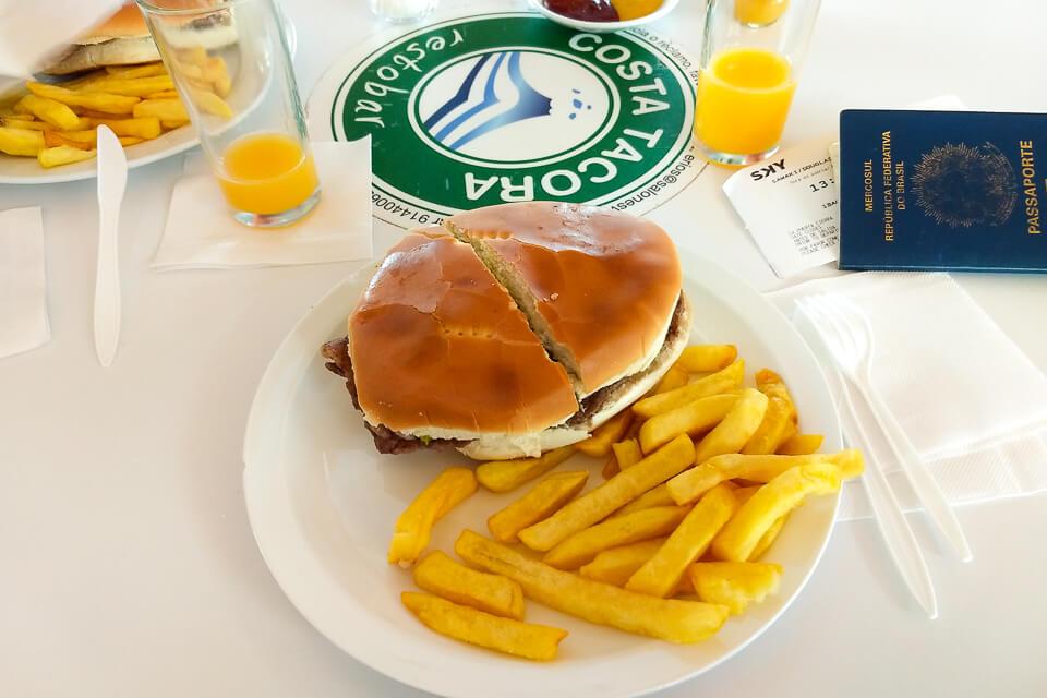 Roteiro de 6 dias no Atacama - quanto custa comer no aeroporto de Calama