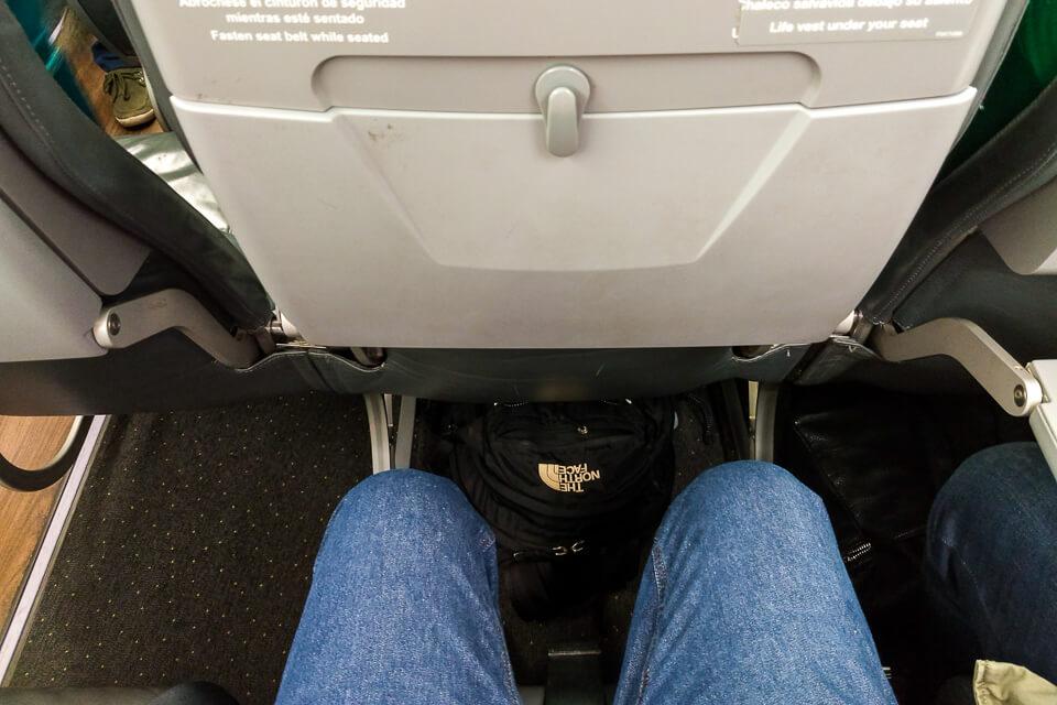 Como são os assentos da Sky Airlines