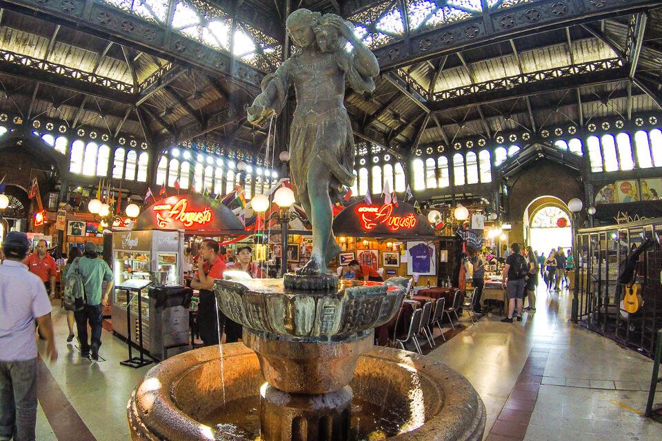 Lugares mais visitados de Santiago - Mercado Central