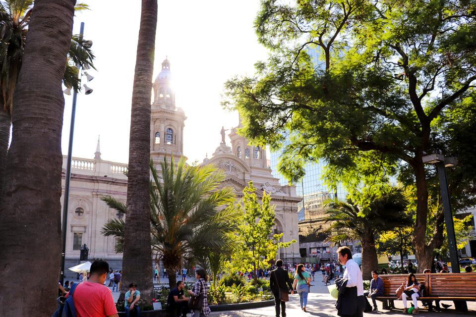 Roteiro de 2 dias em Santiago - Plaza de Armas