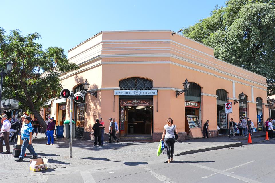 Onde comer empanada em Santiago do Chile