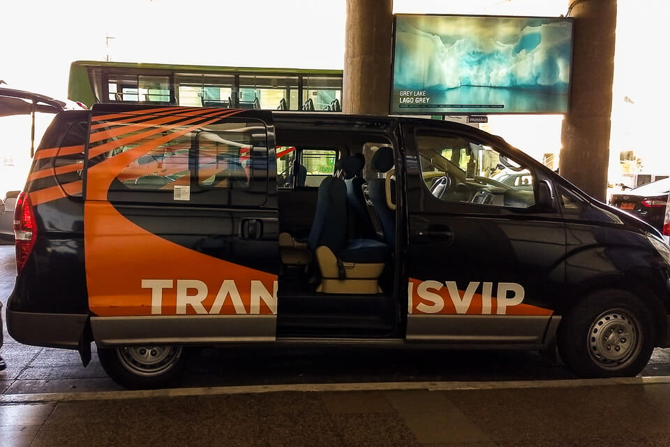 Como ir do aeroporto ao centro de Santiago Chile