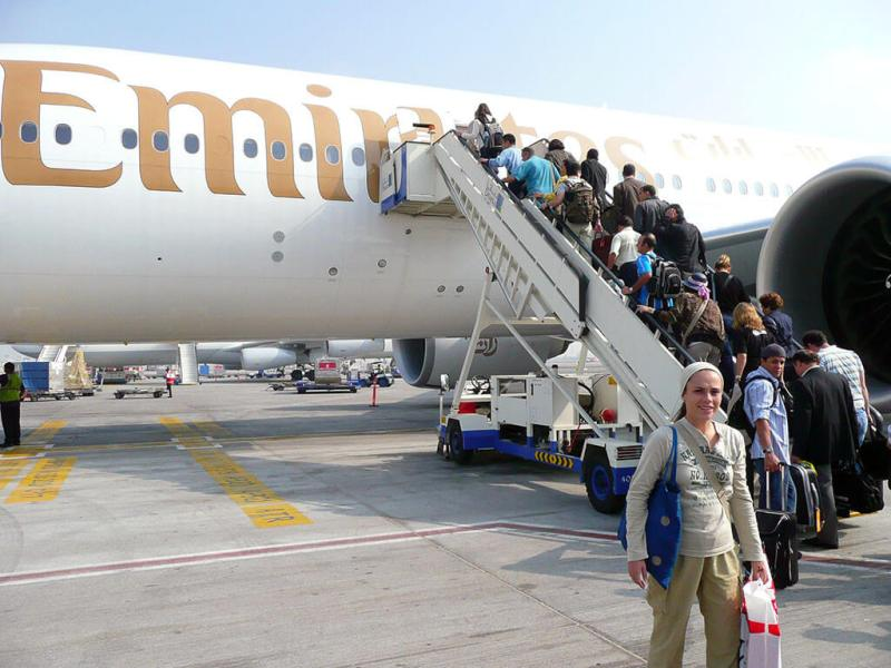 Como é voar com a Emirates Airlines