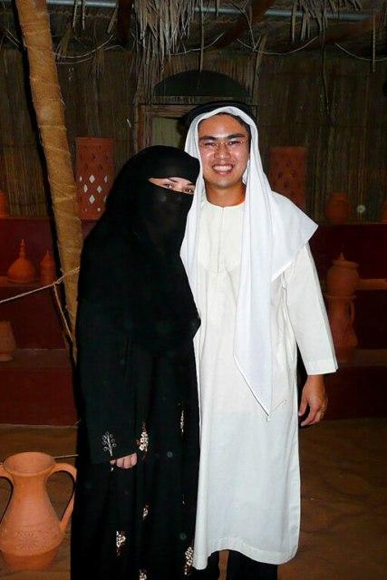 Roupas tradicionais árabes em Dubai o que vestir em Dubai