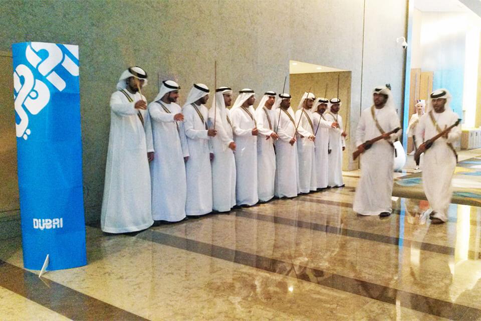 Como os árabes recebem turistas em Dubai