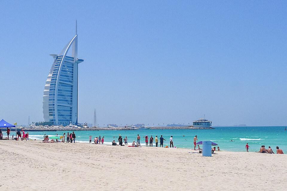 O que ver e fazer em Dubai praias