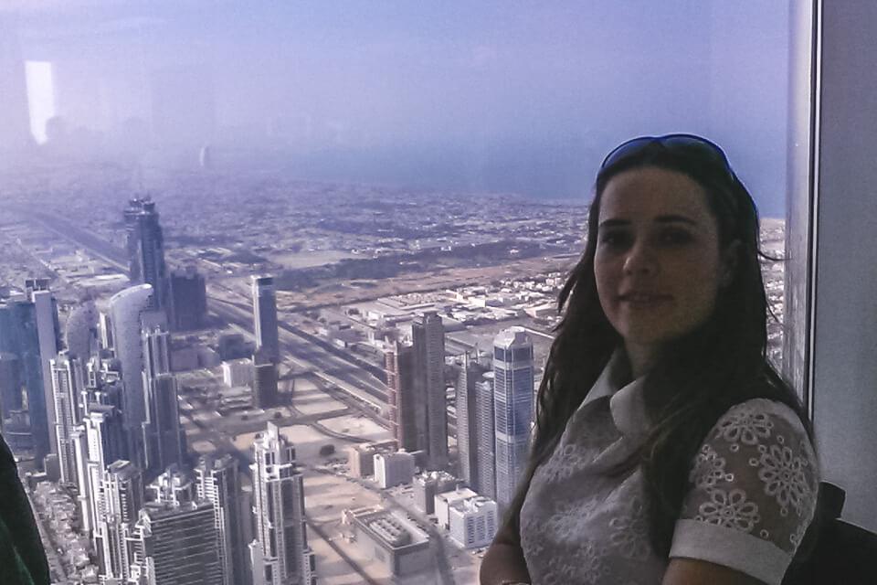 O que ver e fazer em Dubai ver a cidade do alto no At The Top