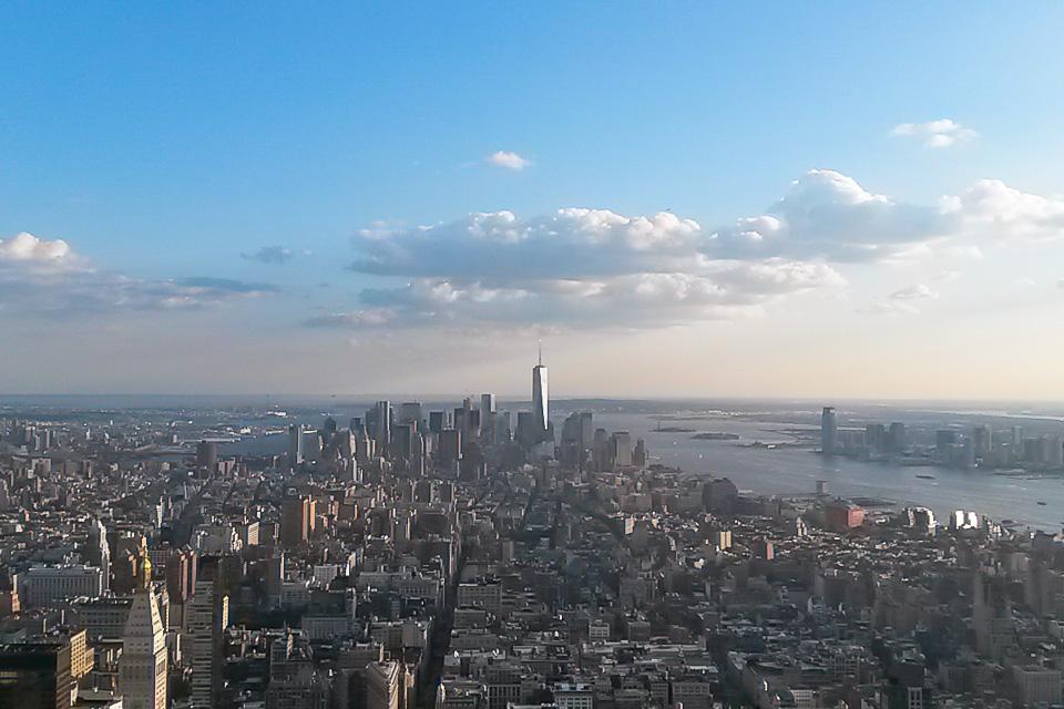 Empire State Building é um dos principais pontos turísticos de Nova York