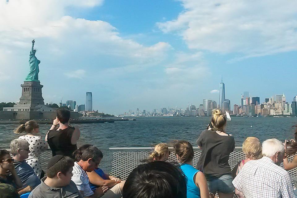 Estátua da Liberdade é um dos principais pontos turísticos de Nova York