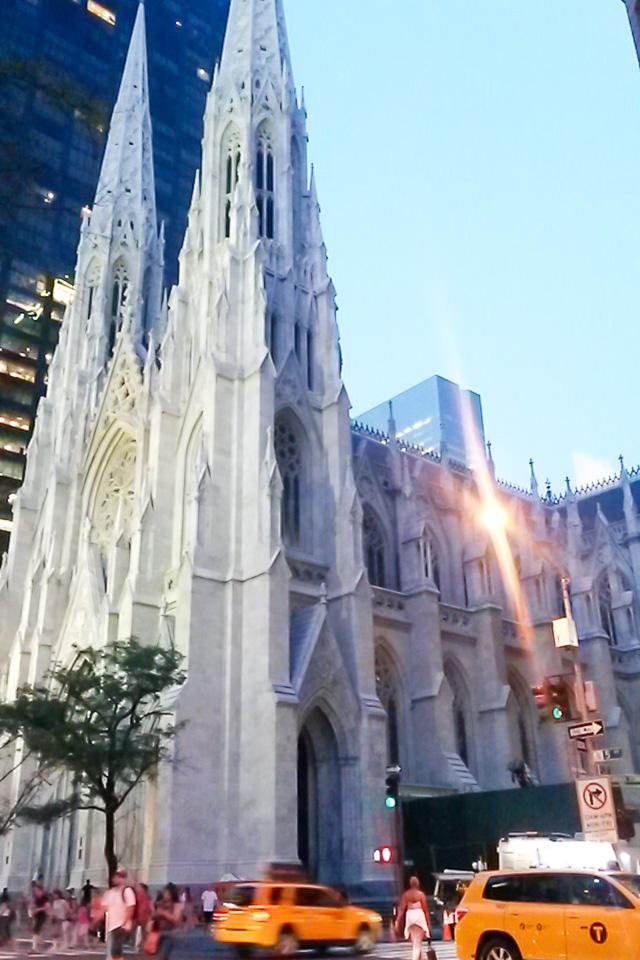 Roteiro em Nova York com visita a St. Patrick's Cathedral.