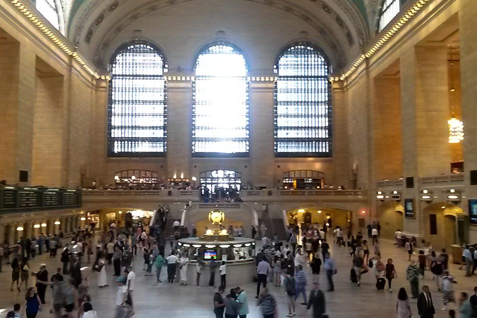 Grand Central Terminal é um dos principais pontos turísticos de Nova York