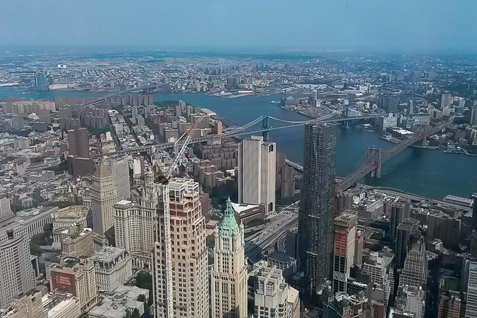 One World Observatory é um dos principais pontos turísticos de Nova York