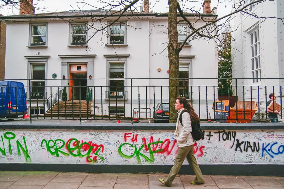 Onde fica a faixa de pedestre dos beatles em Londres