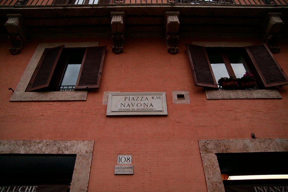 Roteiro em Roma