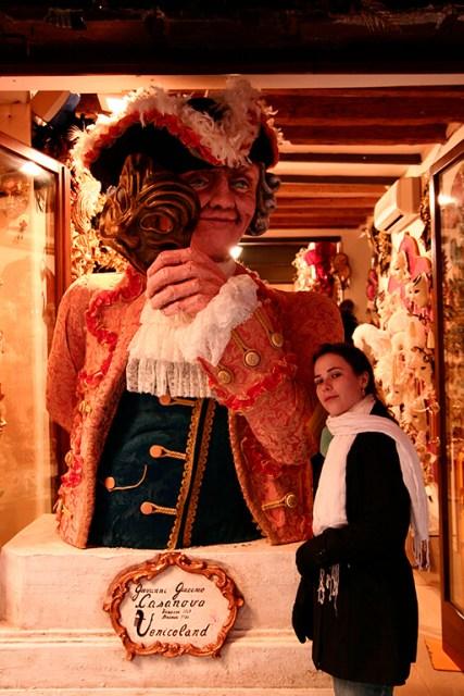 Carnaval em Veneza Itália tradicionais mascaras