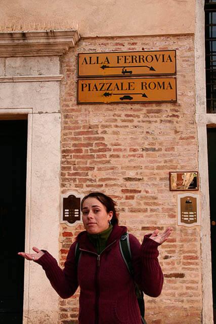 Como pegar avião em Veneza