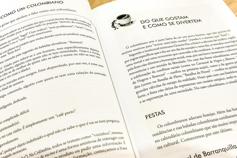 Leitura de viagem Os Colombianos