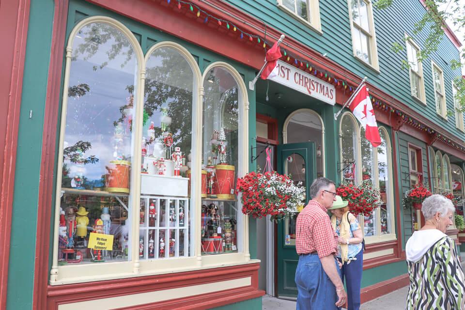O que comprar em Niagara on the lake? Produtos de decoração de Natal