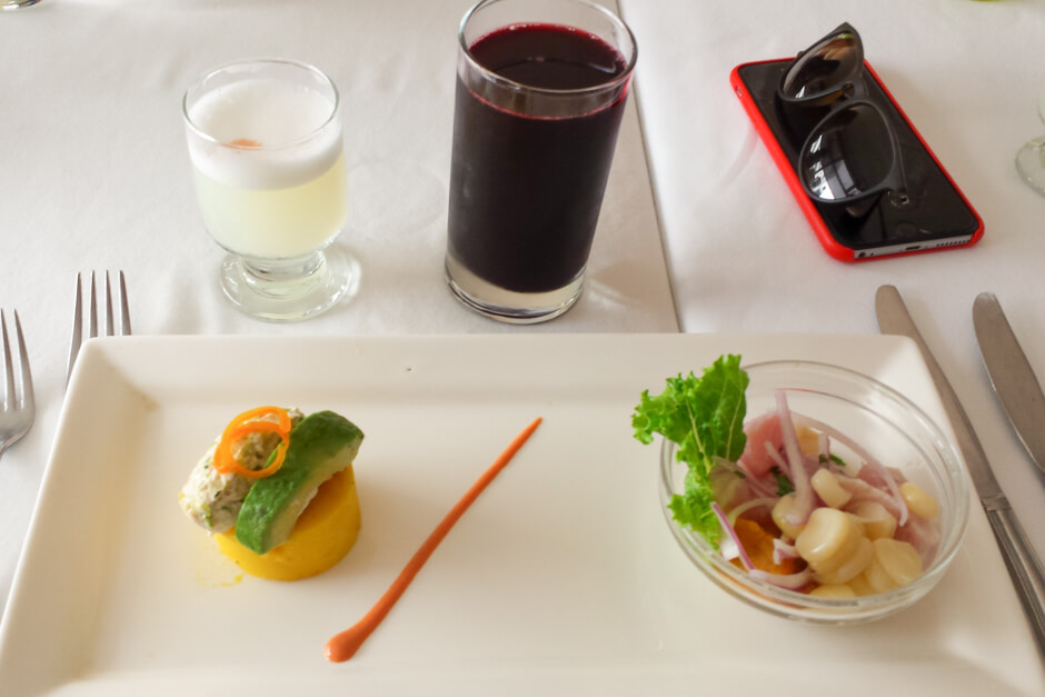 o que beber no Peru - Pisco Sour e Chicha Morada