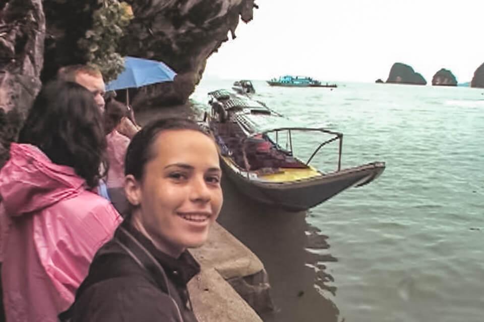 Long Tail Boat Phang-Nga Bay National Park Tailândia