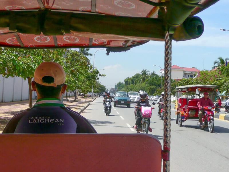 como andar em Phnom Phen