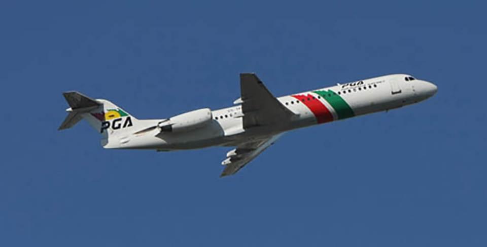 É seguro voar de Fokker 100 e Fokker MK-28