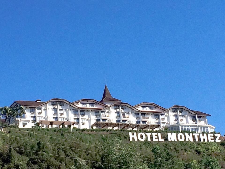 Onde comer em Brusque? Café Colonial do Hotel Monthez