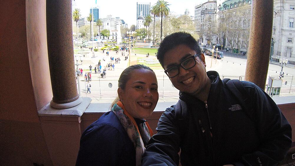 Visita guiada à Casa Rosada