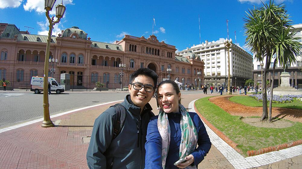 Visita guiada em Buenos Aires