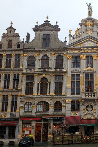 Grand Place, Bruxelas, Bélgica - Agosto/2016. (Foto: Rafaela Ely)