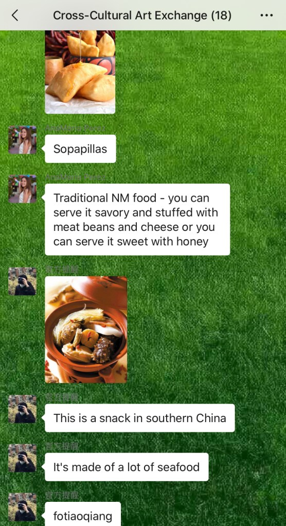 Weekly Conversations – Traditional Food (4)