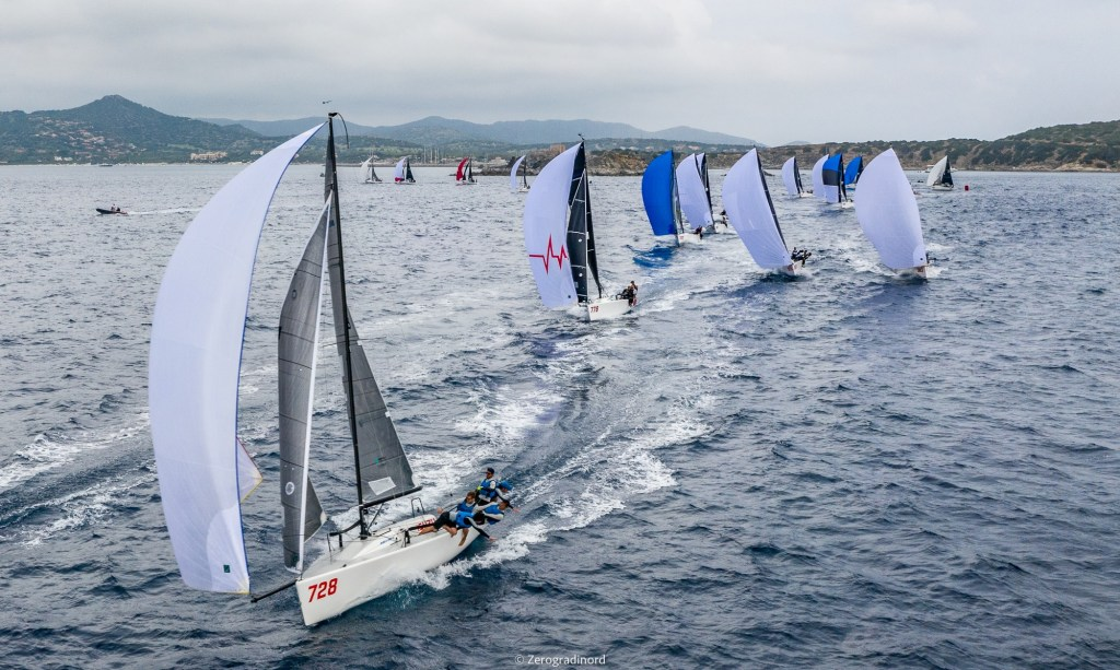Day Two of the Melges 24 Pre-worlds in Villasimius - Photo ©IM24CA/Zerogradinord