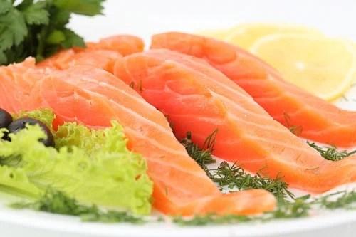 Filés de salmão