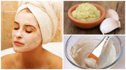 Como fazer uma máscara de alho para desintoxicar e rejuvenescer a pele