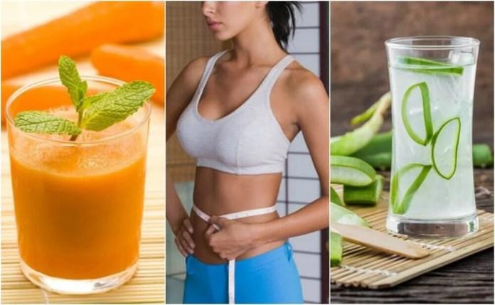 5 sucos que ajudam você a perder medidas no abdômen
