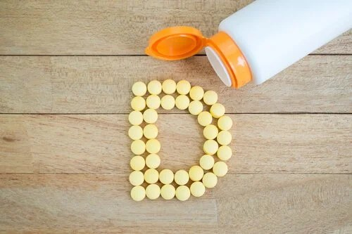 Vitamina D em pílulas