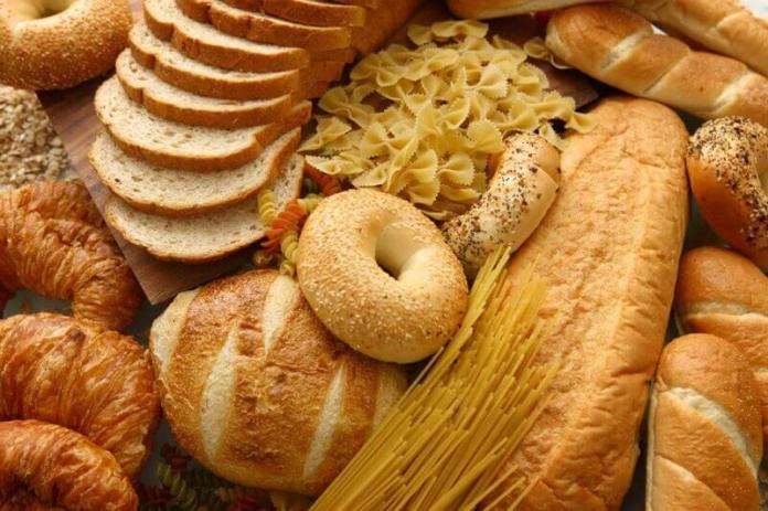 Alimentos feitos de farinhas refinadas