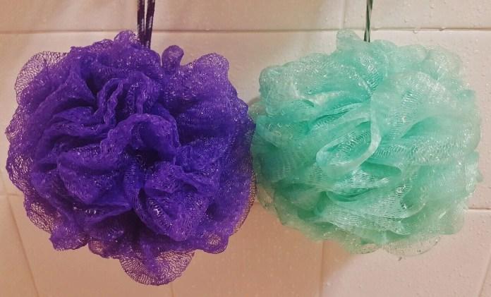 Esponjas de banho