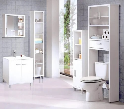 Banheiro limpo com bom cheiro