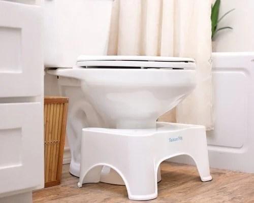 Banquinho no banheiro