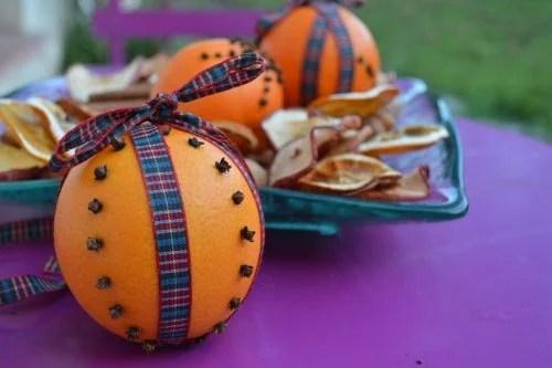 Aromatize sua casa com laranja