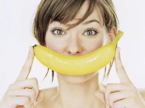 Banana para preparar bolinhos de banana