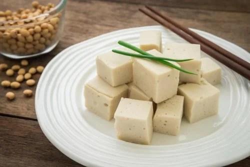 Tofu na vasilha