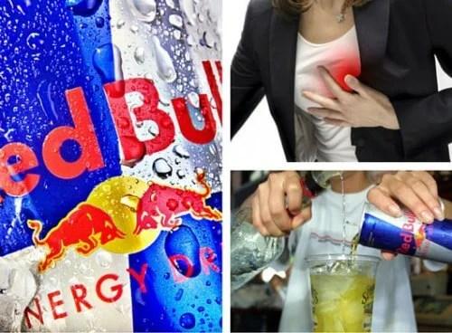 Consequências de tomar Redbull ou outras bebidas energéticas